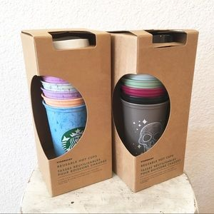 Starbucks Fall Halloween Limited Edition Hot Cups